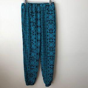 LIKE NEW LNA boho pants -S